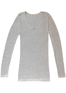 Lepel Thermal Long Sleeve Grey Vest Top