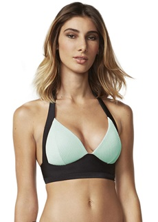 Moontide Jacquard Stripe Booster Bikini Top