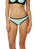 JACQUARD STRIPE Bound Bikini Brief