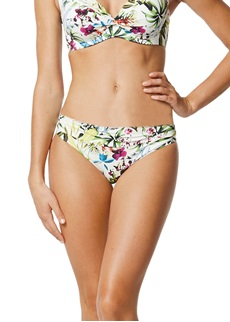 Moontide Botanical Twist Ruched Bikini Brief