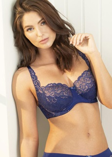 Pour Moi Forever Fiore Blue/Rose Full Cup Bra
