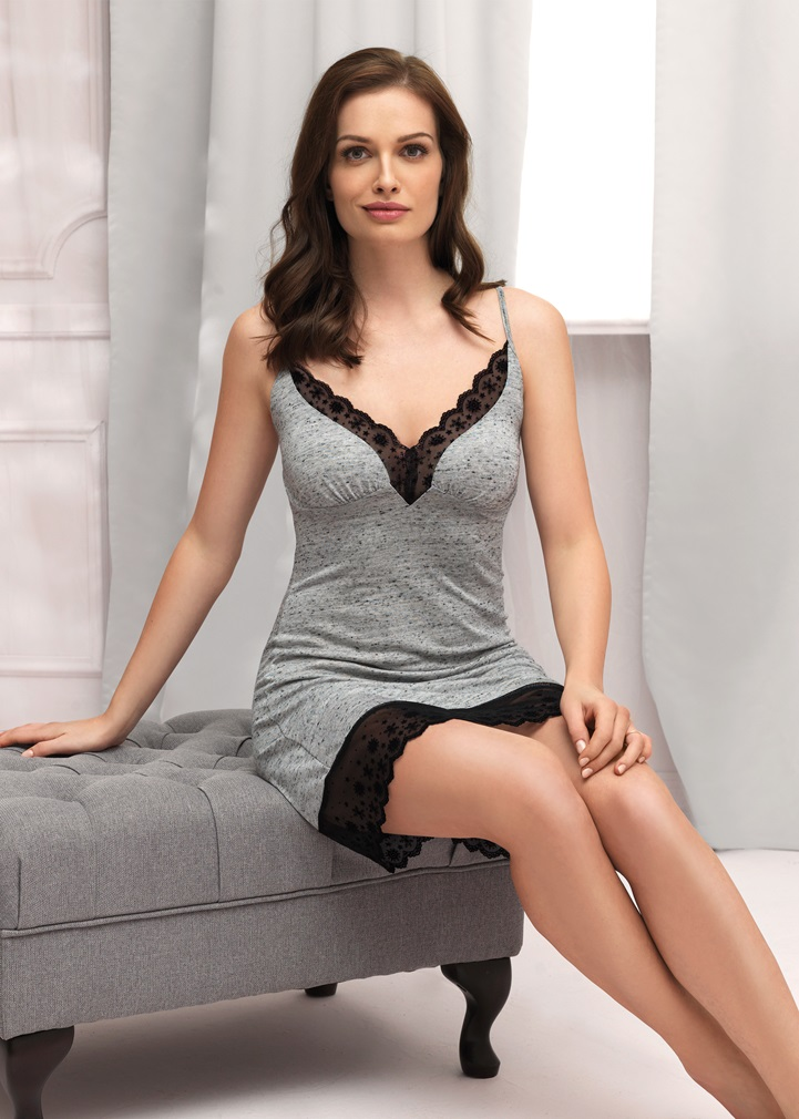 VANILLA Nightdress - Grey