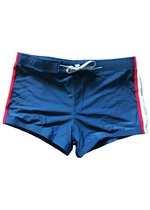 Waxx Racing Navy Mens Swimboxer